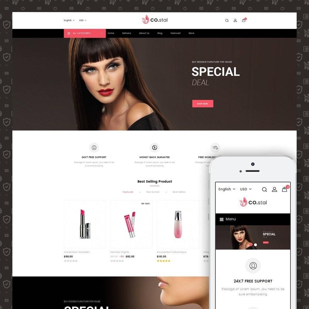 theme - Saúde & Beleza - Costal - Beauty Store - 1