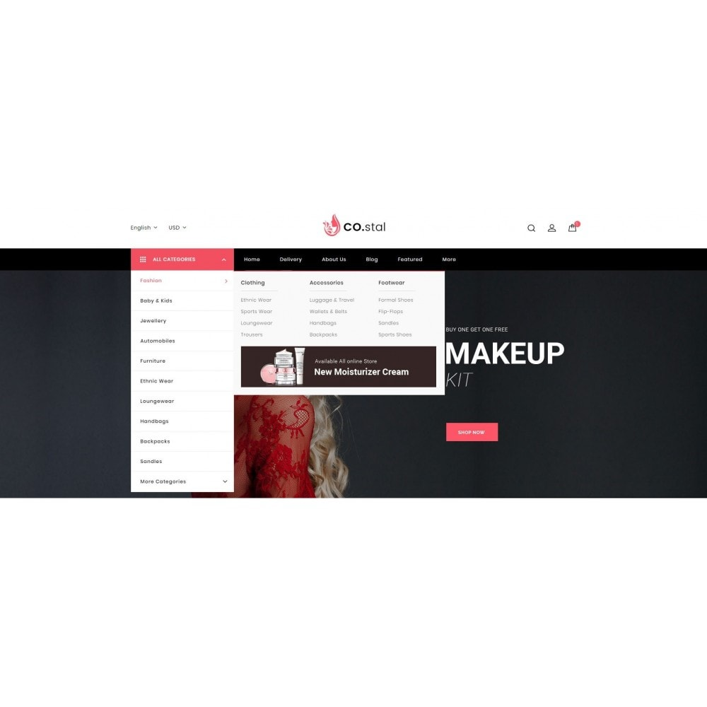 theme - Saúde & Beleza - Costal - Beauty Store - 8