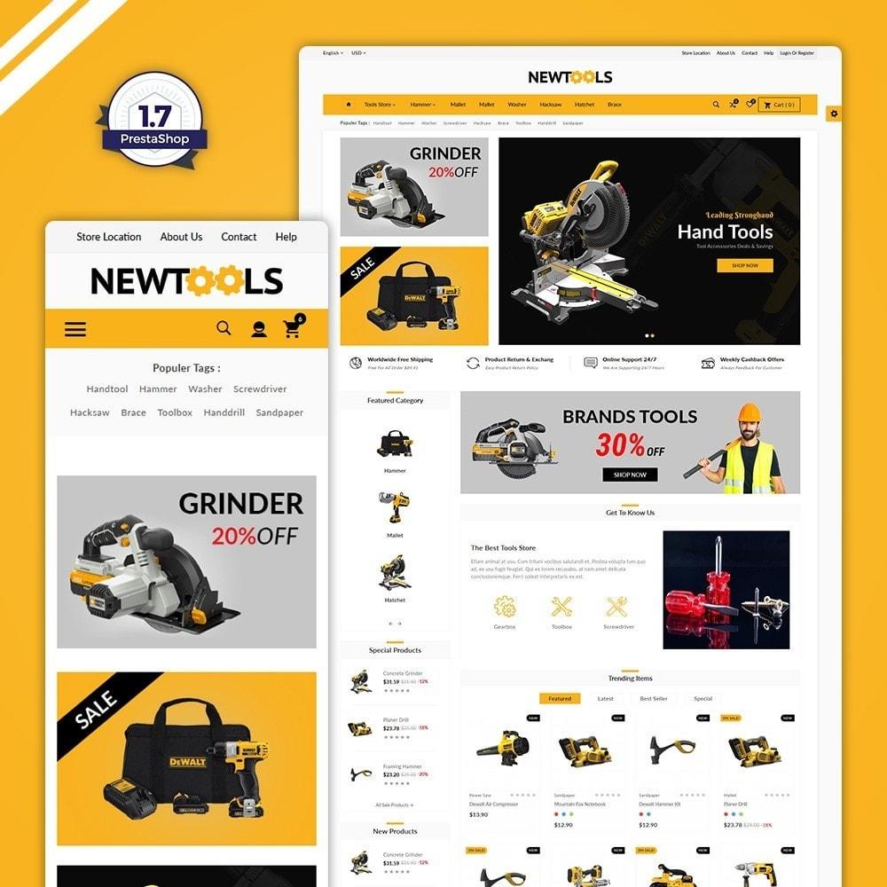 theme - Automotive & Cars - Tools –Tools Mega Shop - 1