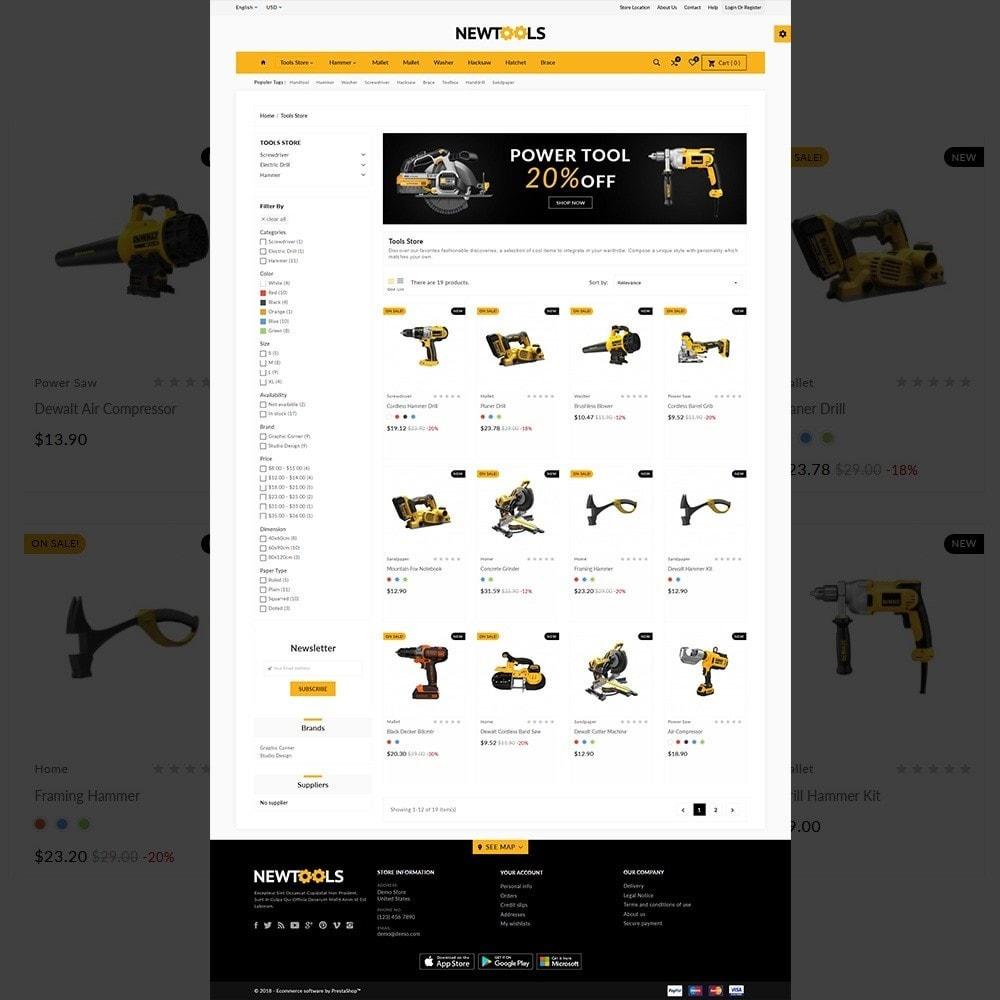 theme - Automotive & Cars - Tools –Tools Mega Shop - 3