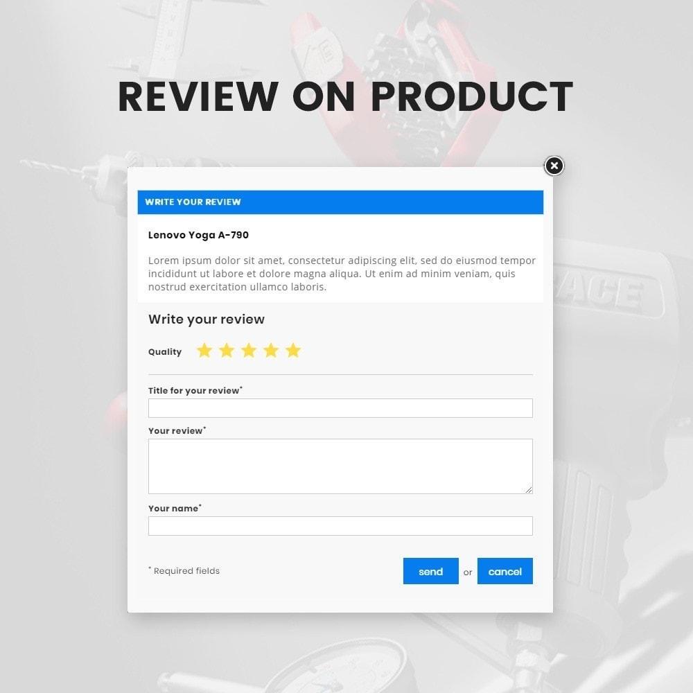 theme - Automotive & Cars - Toolen Mega Tools Super Store - 10