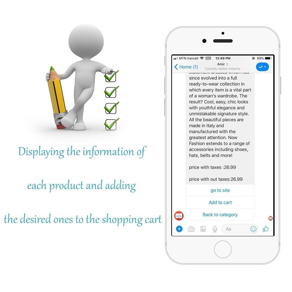 module - Produkte in Facebook & sozialen Netzwerken - Shop for Fan Page and messenger - 6