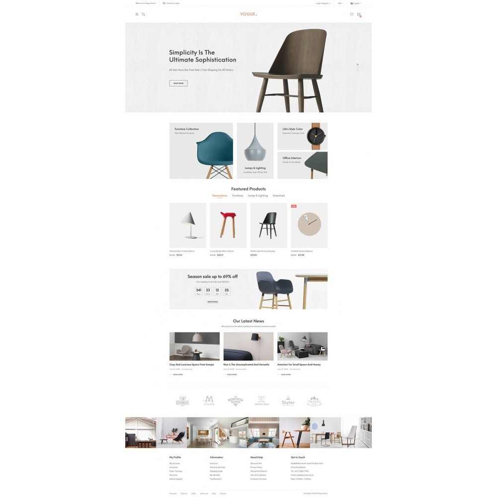 theme - Home & Garden - Vogue - Furniture Store - 6