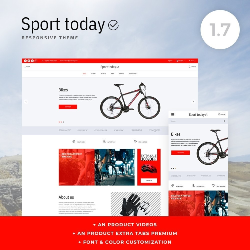 theme - Sports, Activities & Travel - Sport Today - 1