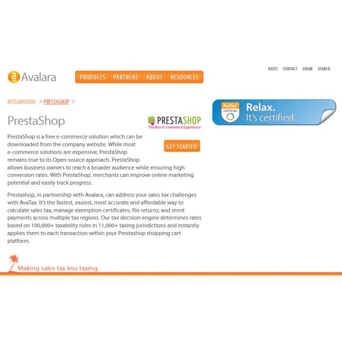 module - Billing & Invoicing - Avalara - AvaTax - 2