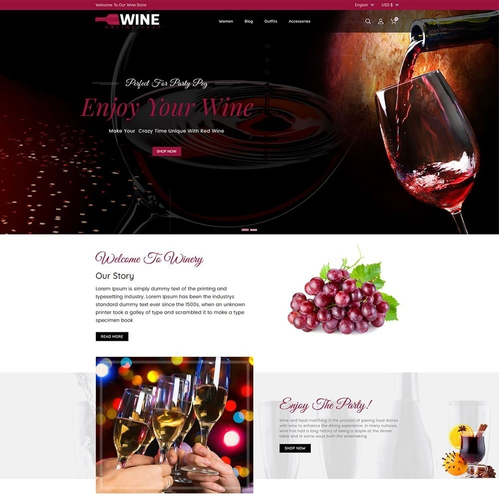 theme - Drank & Tabak - Wine Online Shop - 2