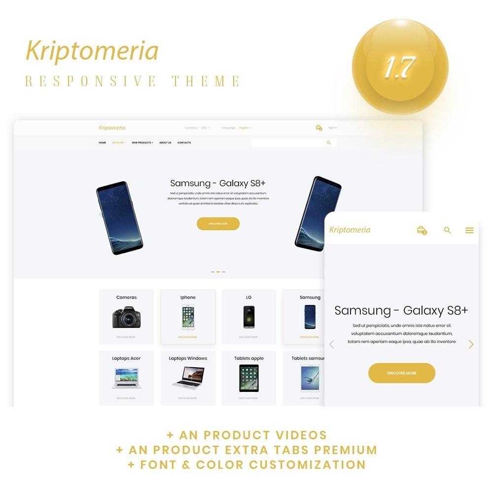 theme - Electronics & Computers - Kriptomeria - High-tech Shop - 1