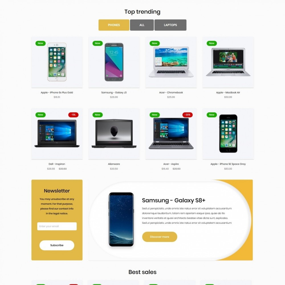 theme - Electronics & Computers - Kriptomeria - High-tech Shop - 3