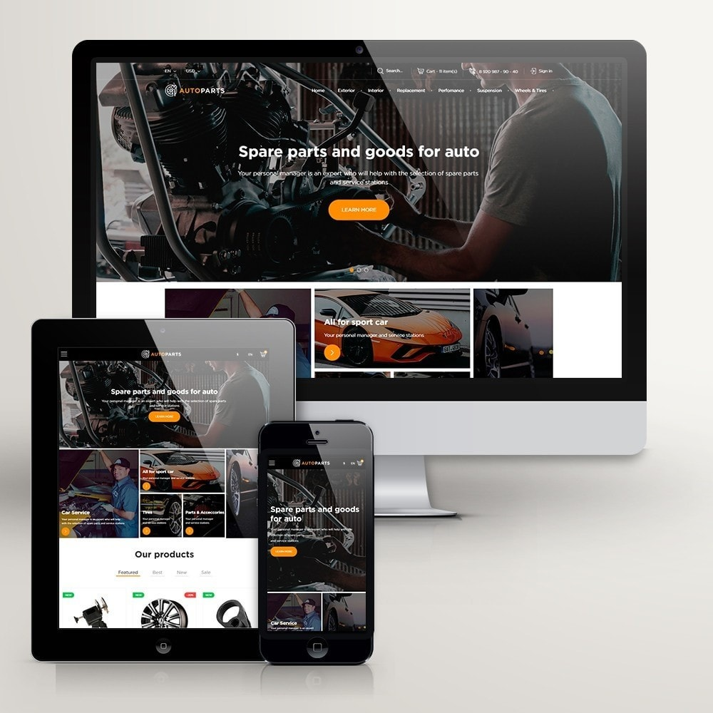 theme - Automotive & Cars - Car Store - 1