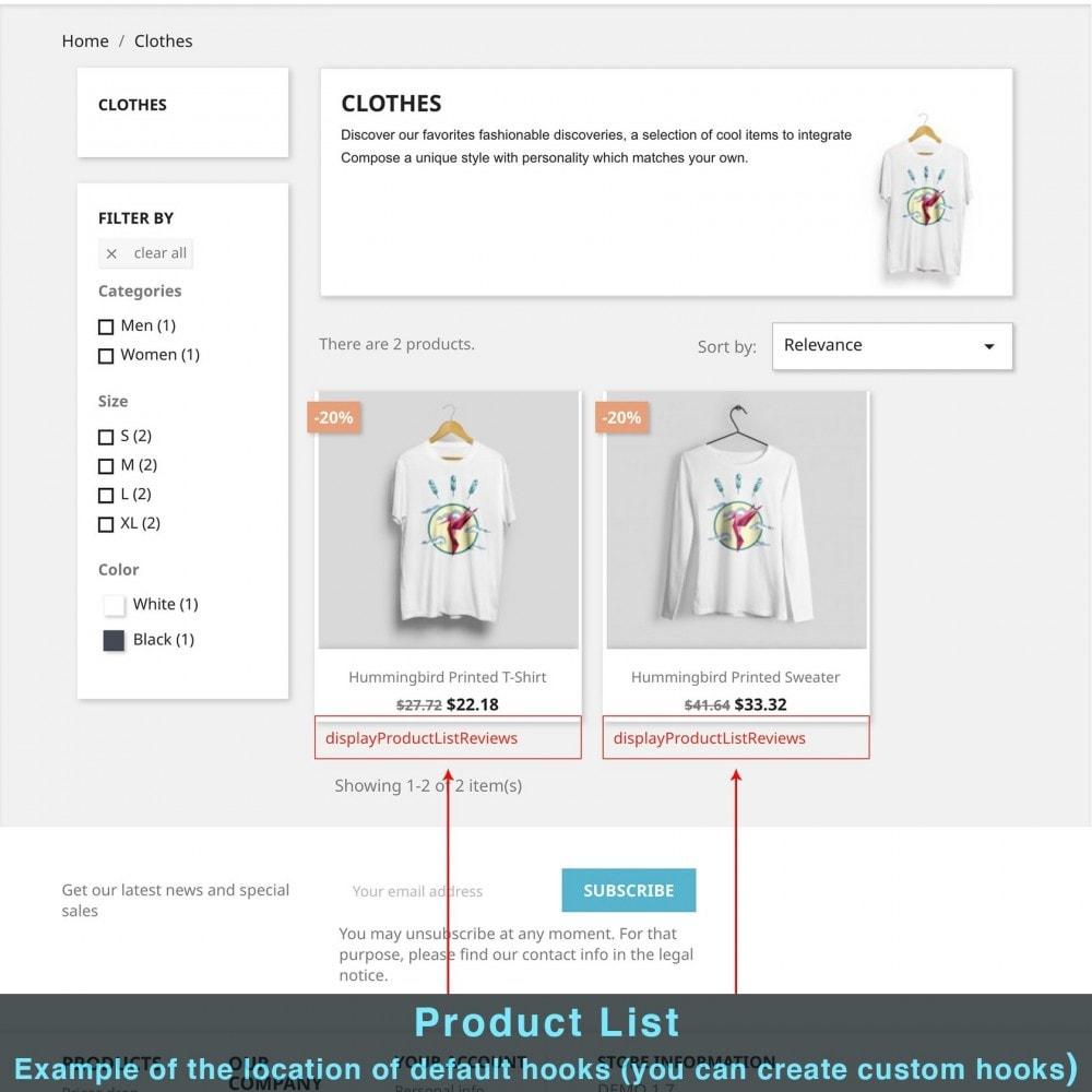 module - Informaciones adicionales y Pestañas - Contenido Extra del Producto - 12