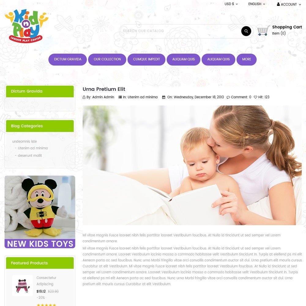 theme - Kids & Toys - Kidplay - The Toy Store - 7