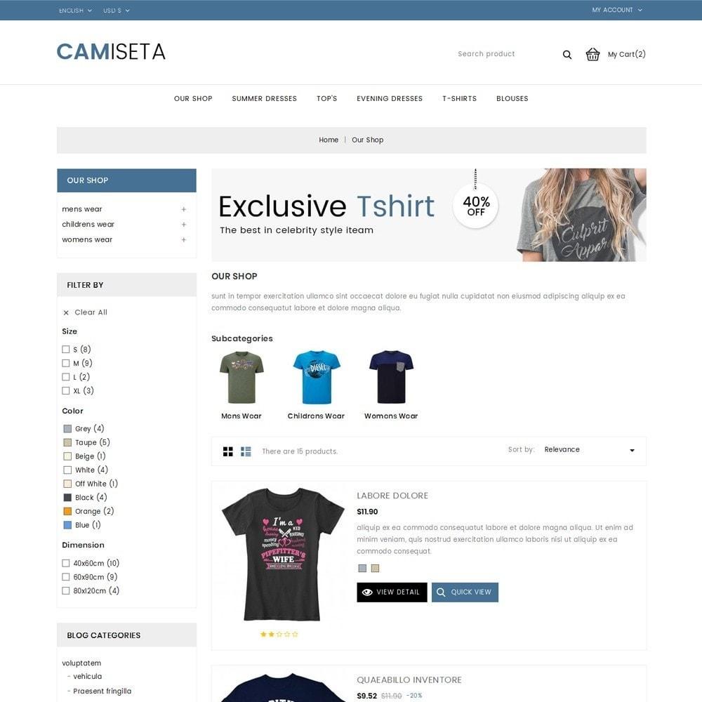 theme - Fashion & Shoes - Camiseta - The Fashion Store - 5