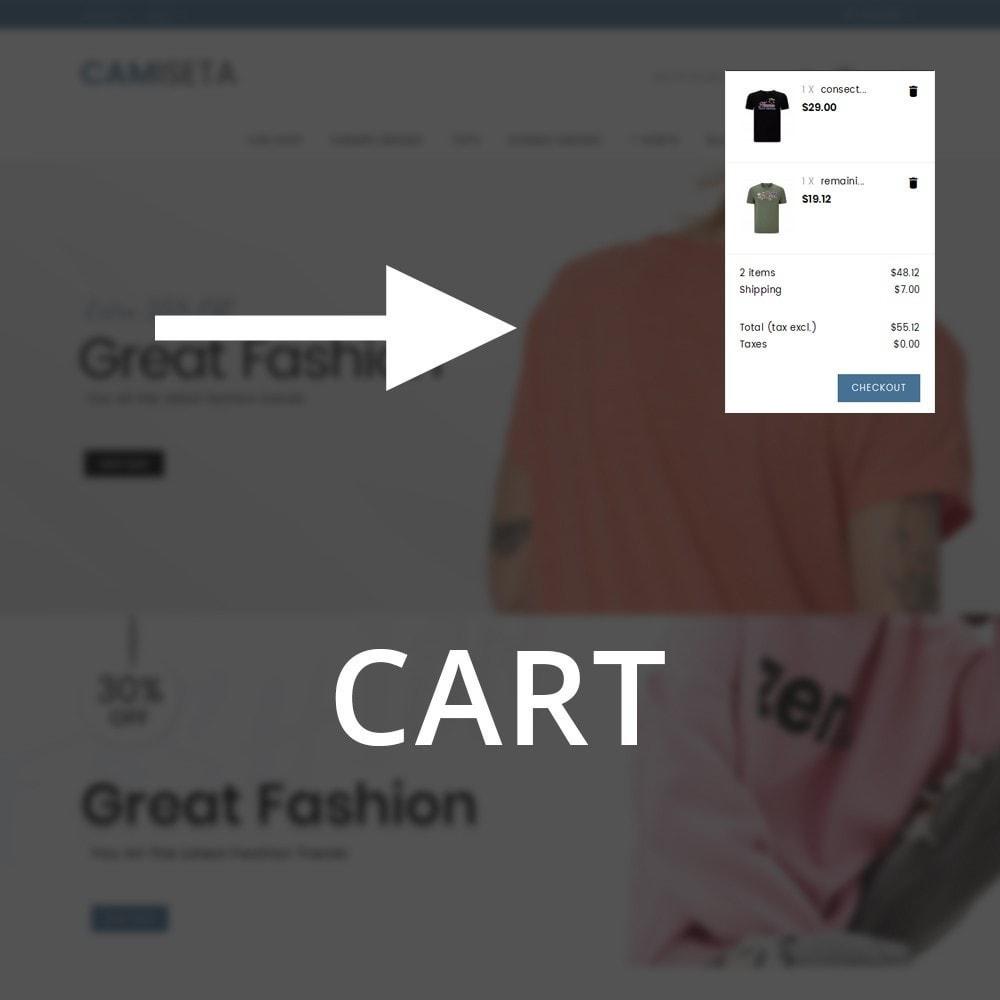 theme - Fashion & Shoes - Camiseta - The Fashion Store - 10