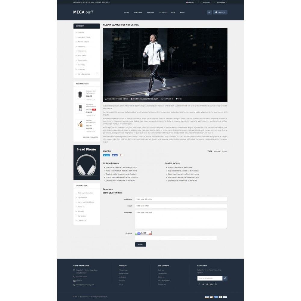 theme - Fashion & Shoes - Mega Buff - Multi purpose store - 9