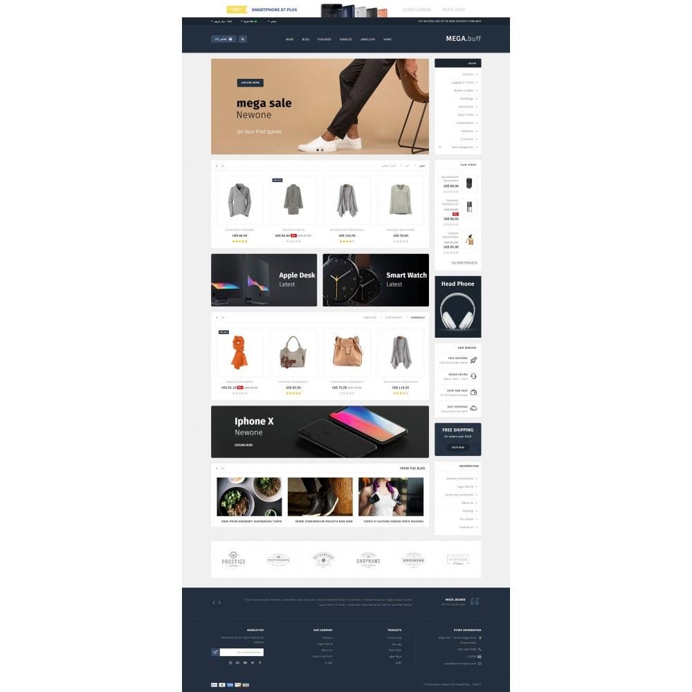 theme - Fashion & Shoes - Mega Buff - Multi purpose store - 10