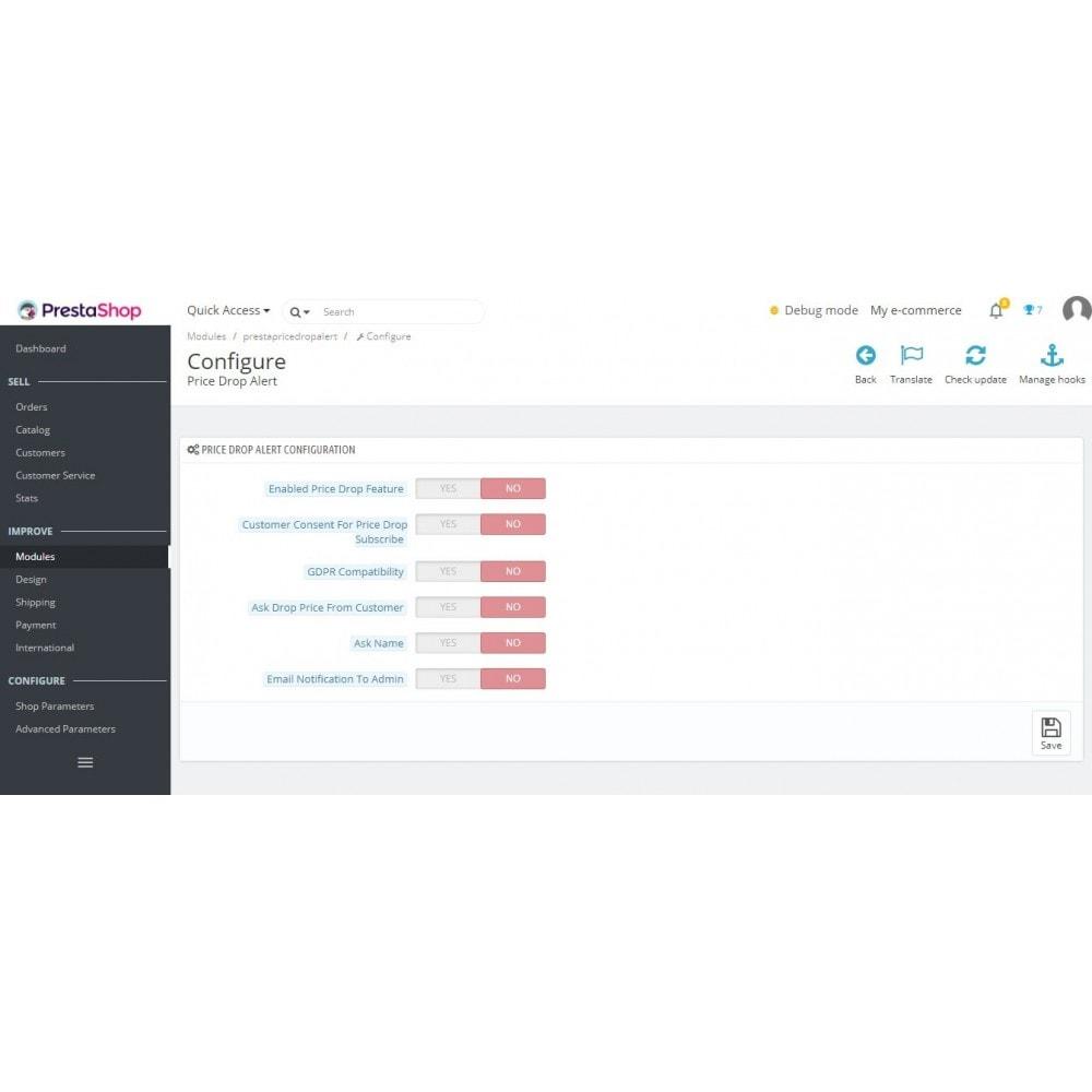 module - Notifications & Automatic Emails - Price Drop Alert/Notifier - 2