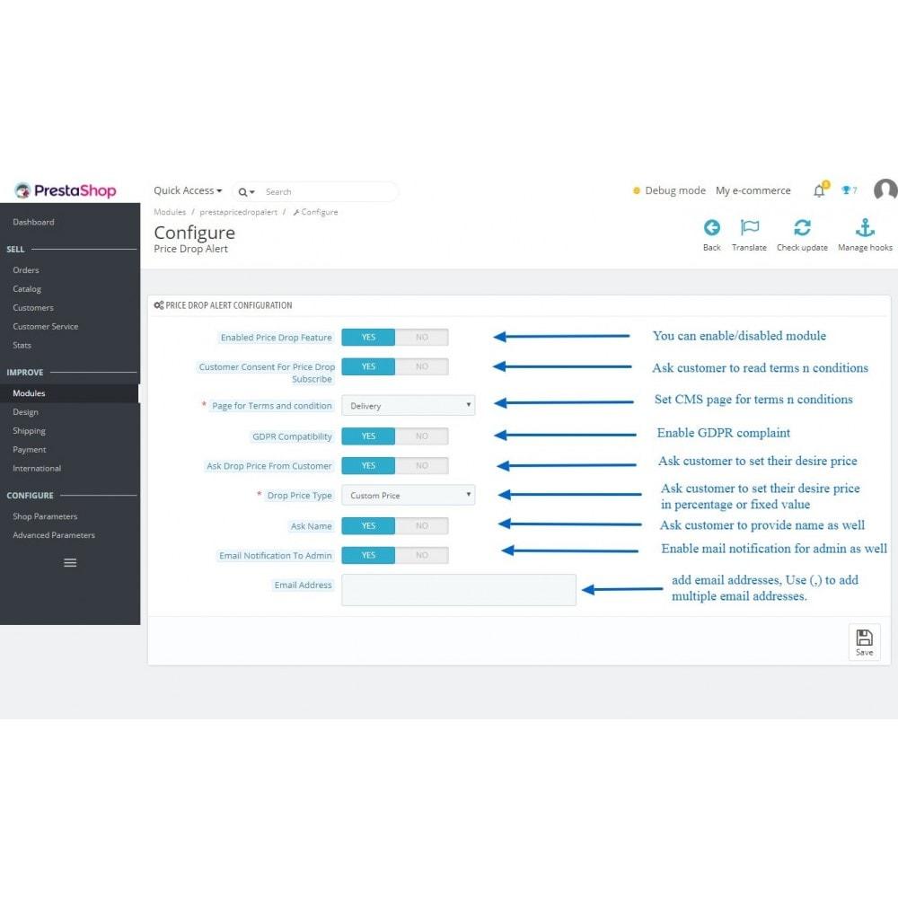 module - Notifications & Automatic Emails - Price Drop Alert/Notifier - 3