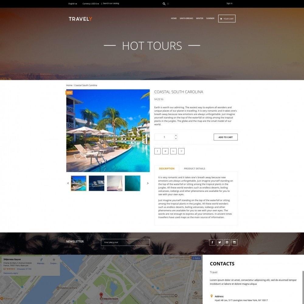 theme - Desporto, Actividades & Viagens - Travely - Agência de Viagens - 4
