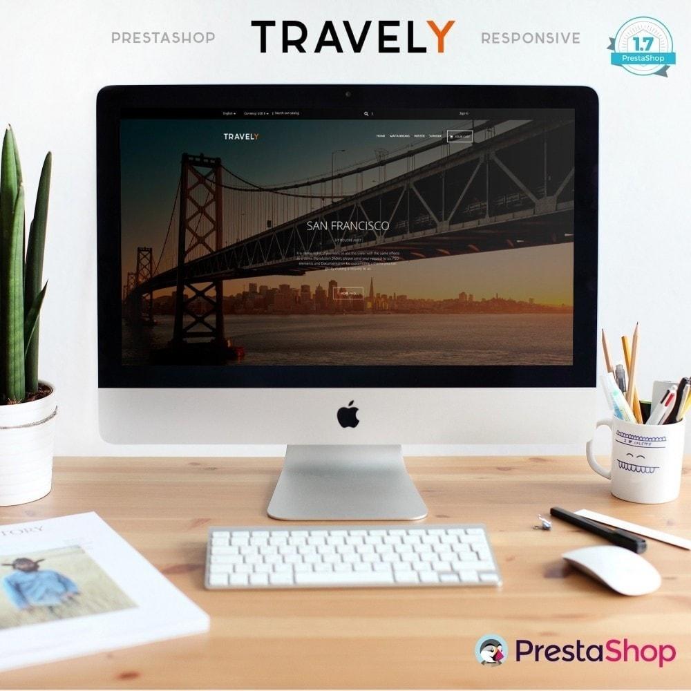 theme - Sport, Aktivitäten & Reise - Travely - Reisebüro - 2