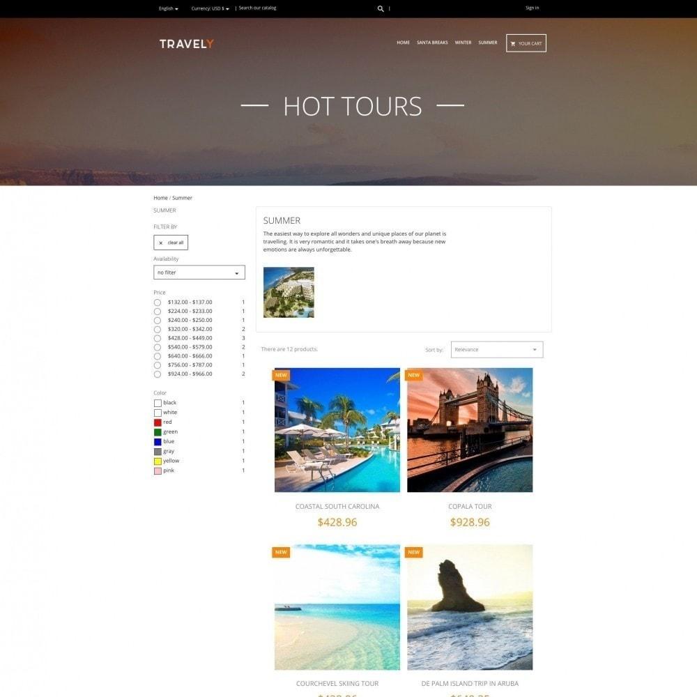 theme - Sport, Aktivitäten & Reise - Travely - Reisebüro - 3