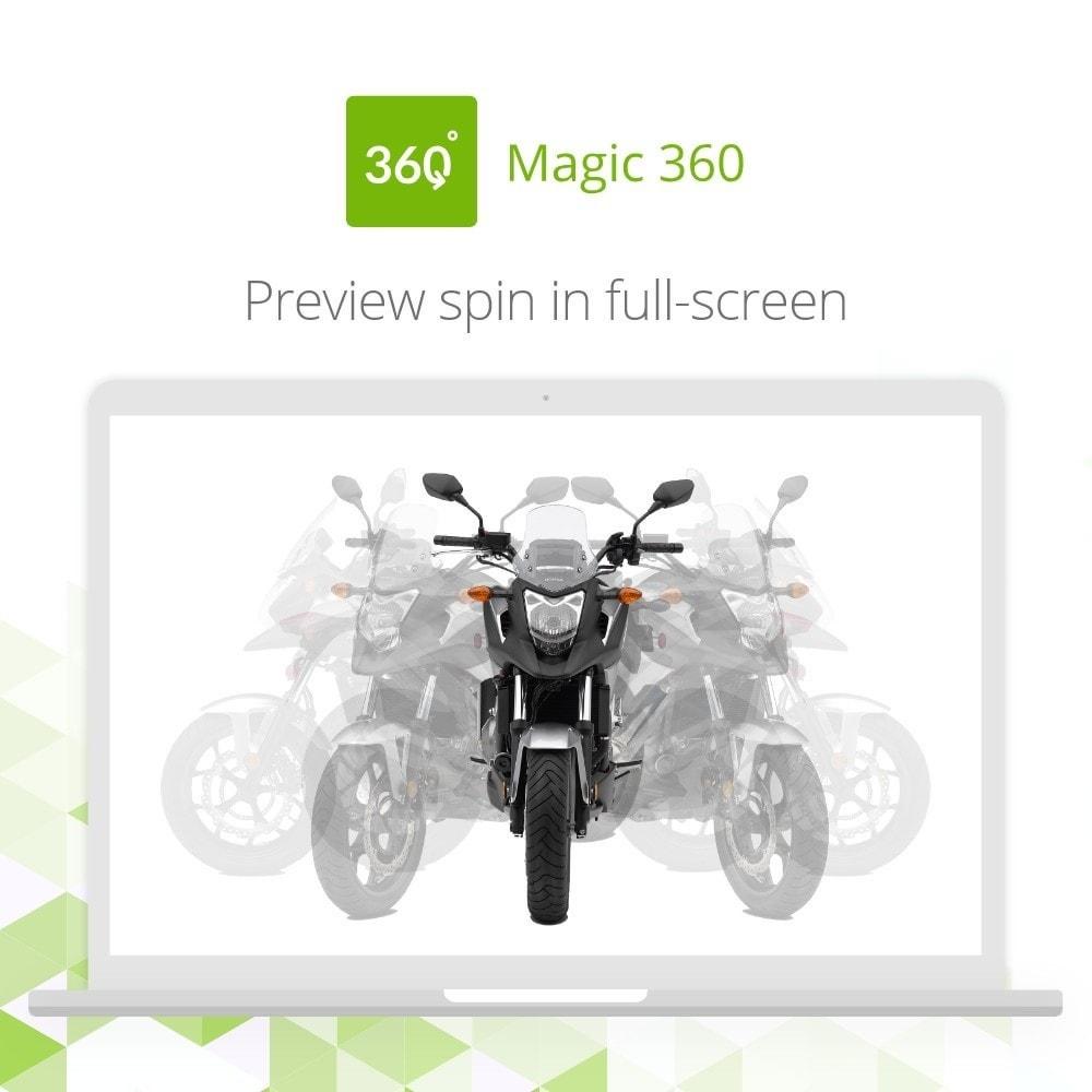 module - Visualizzazione Prodotti - Magic 360 spin - 4