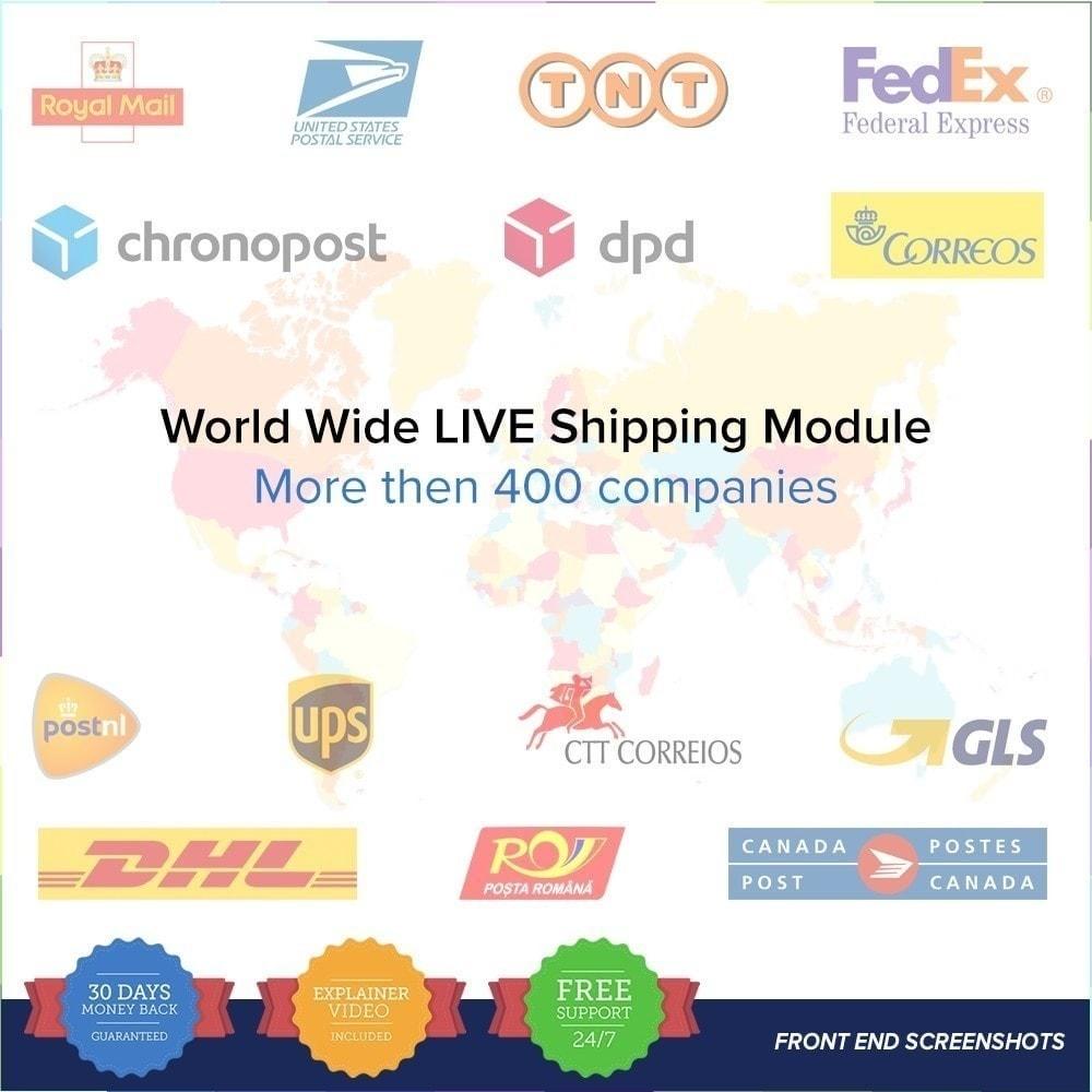 module - Seguimiento de la entrega - LIVE Shipping/Order Tracking Multiple Carriers - 2