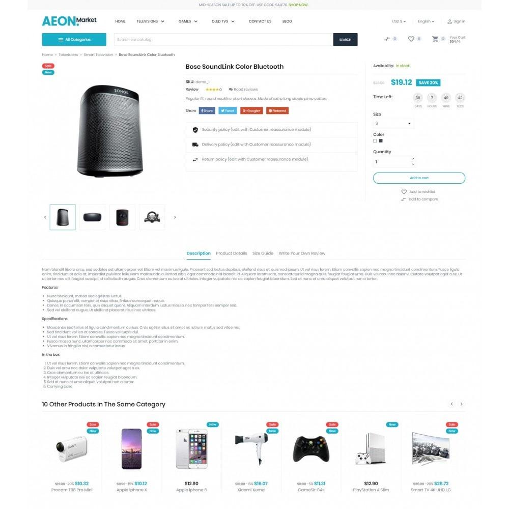 theme - Eletrônicos & High Tech - AEON Electronic Store - 6