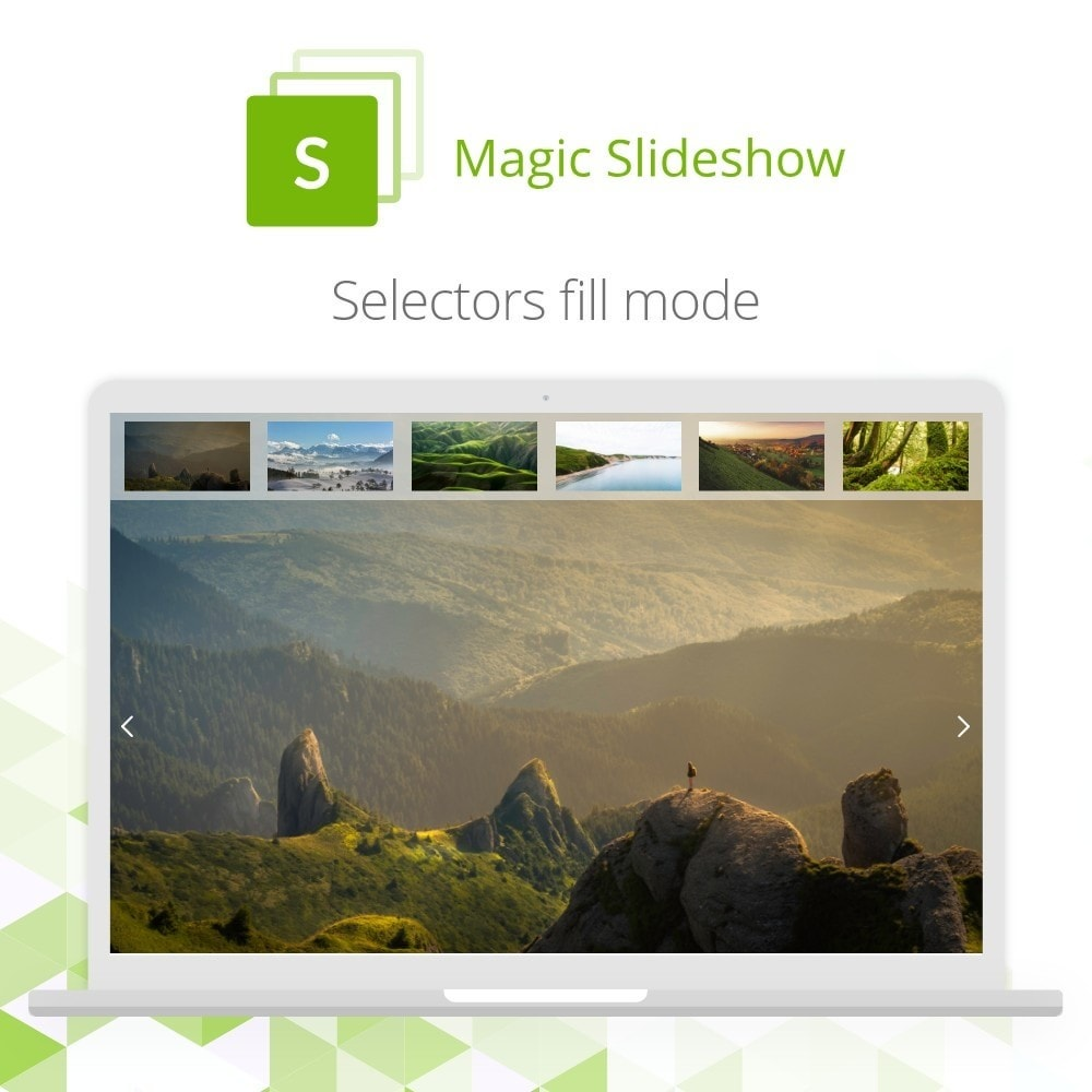 module - Sliders & Galleries - Magic Slideshow - 5