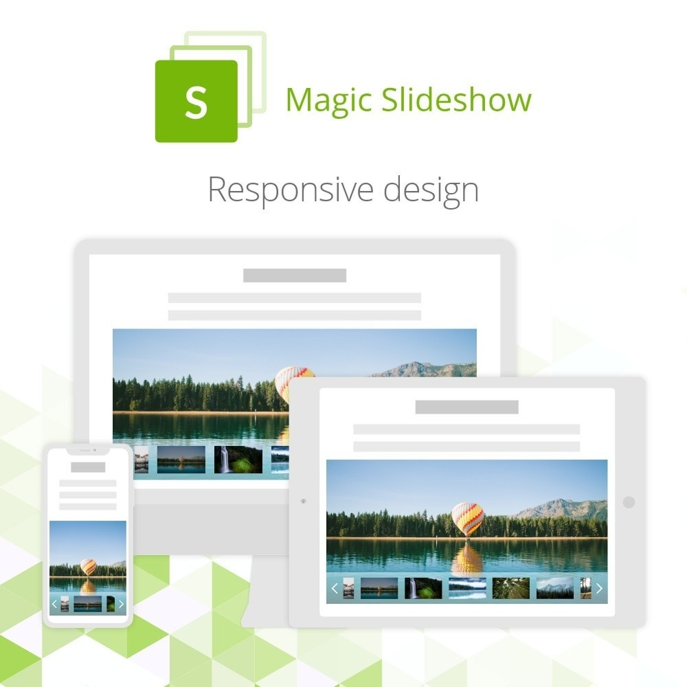 module - Slider & Gallerie - Magic Slideshow - 6