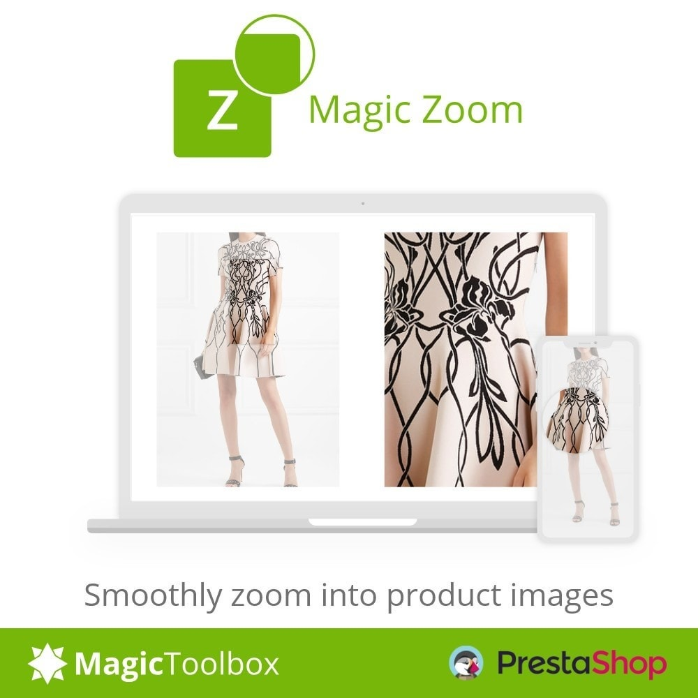 module - Visual dos produtos - Magic Zoom - 1