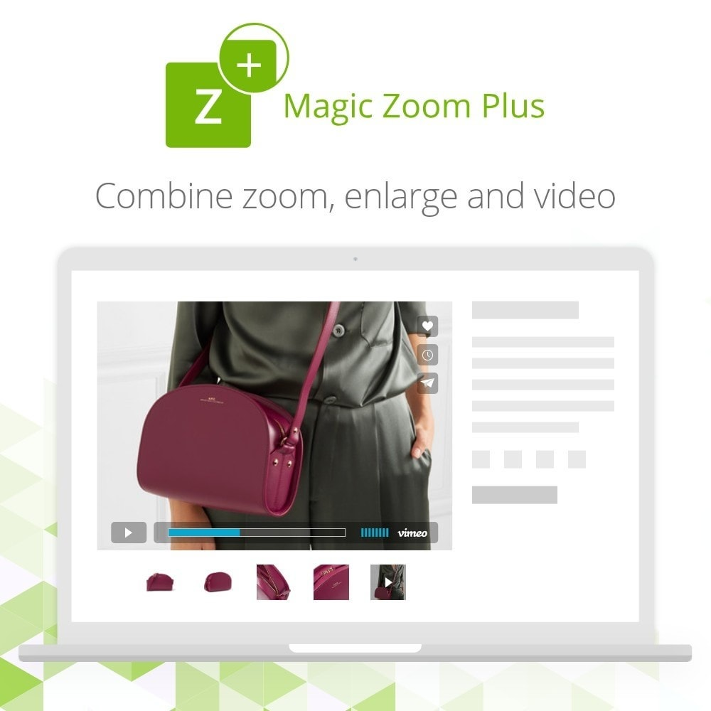 module - Visual dos produtos - Magic Zoom Plus - 5