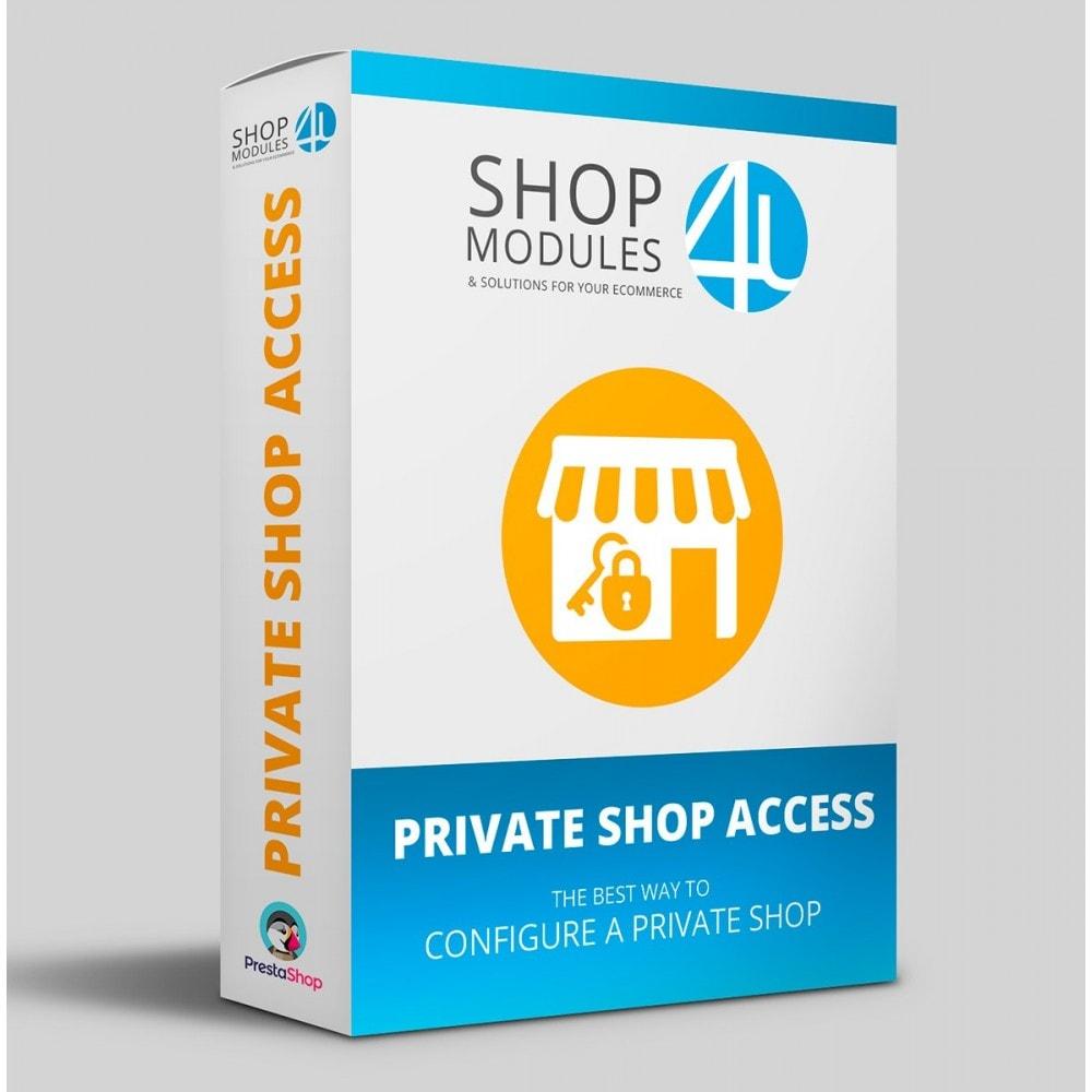 module - Security & Access - Private Shop Access - 1