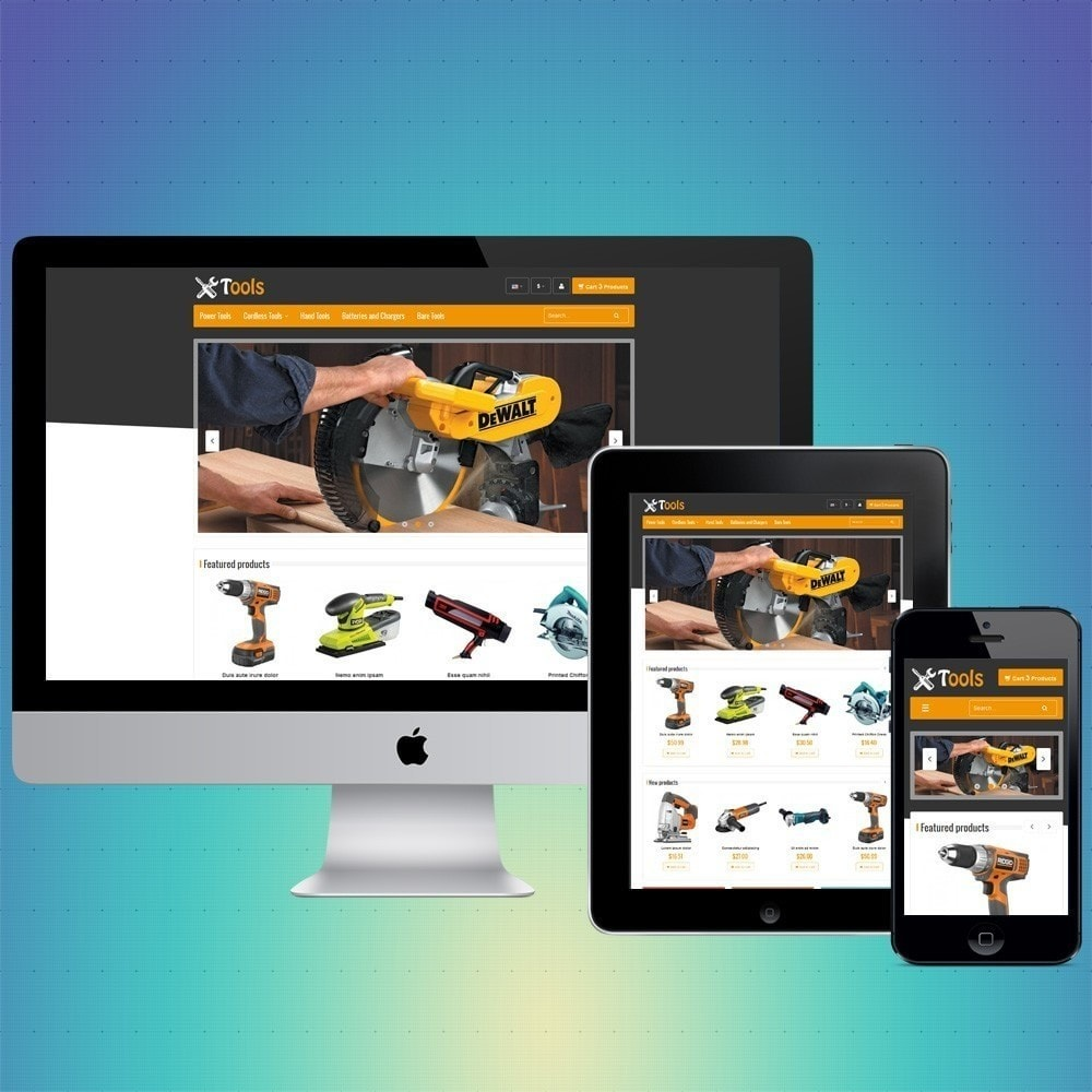 theme - Home & Garden - VP_Tools Store - 1
