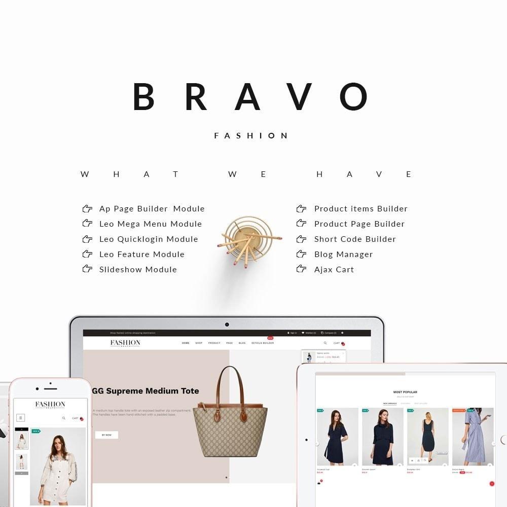theme - Mode & Chaussures - Bravo - The Fashion Collection - 1