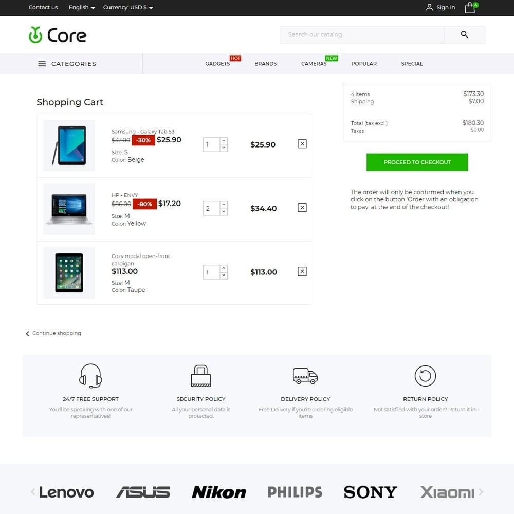 theme - Electronics & Computers - Core - High-tech Shop - 7