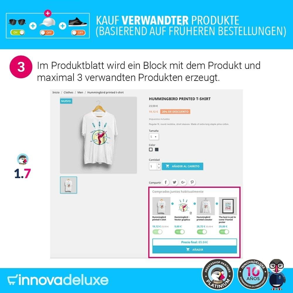 module - Cross-Selling & Produktbundles - Kauf verwandter Produkte aufgrund früherer Bestellungen - 6