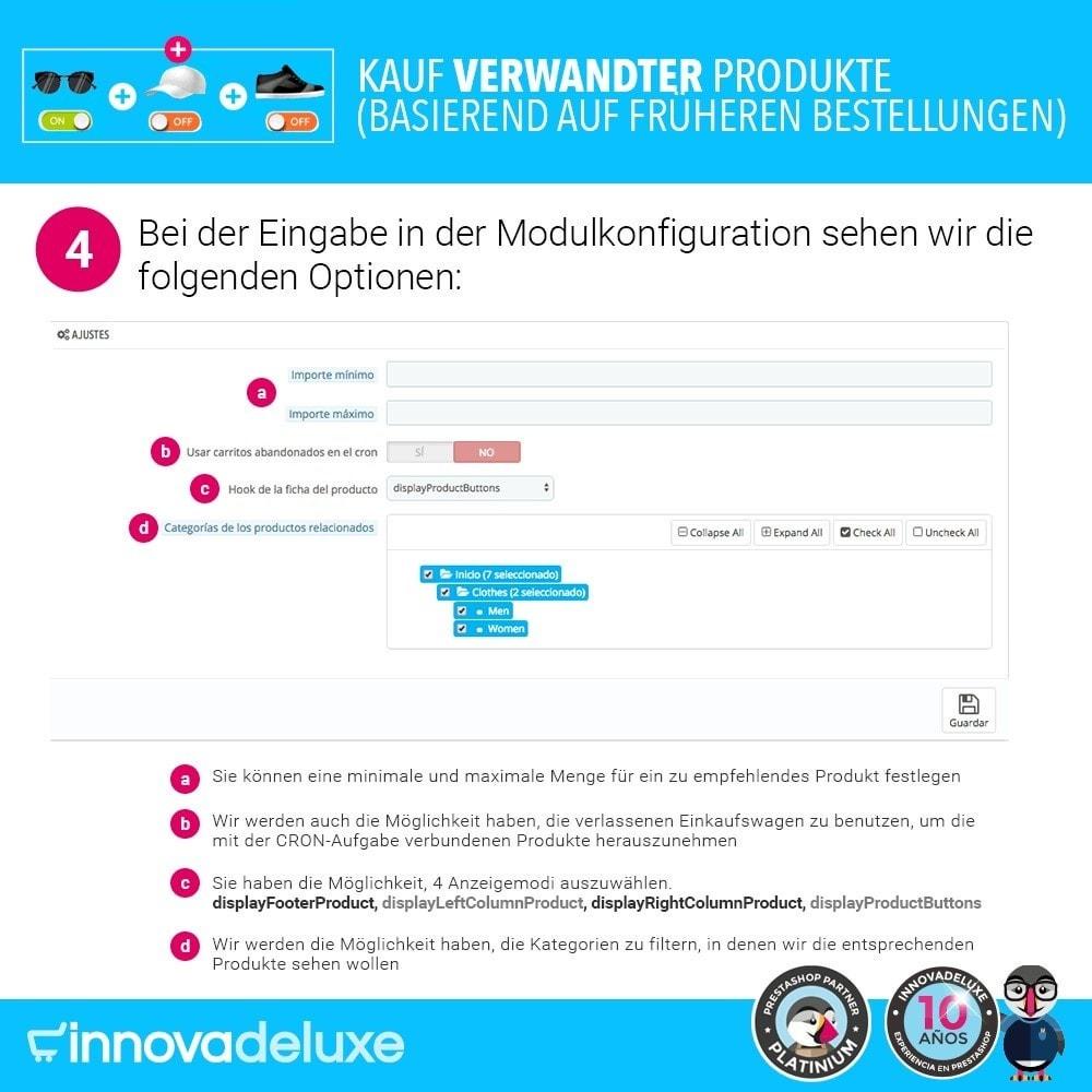 module - Cross-Selling & Produktbundles - Kauf verwandter Produkte aufgrund früherer Bestellungen - 8