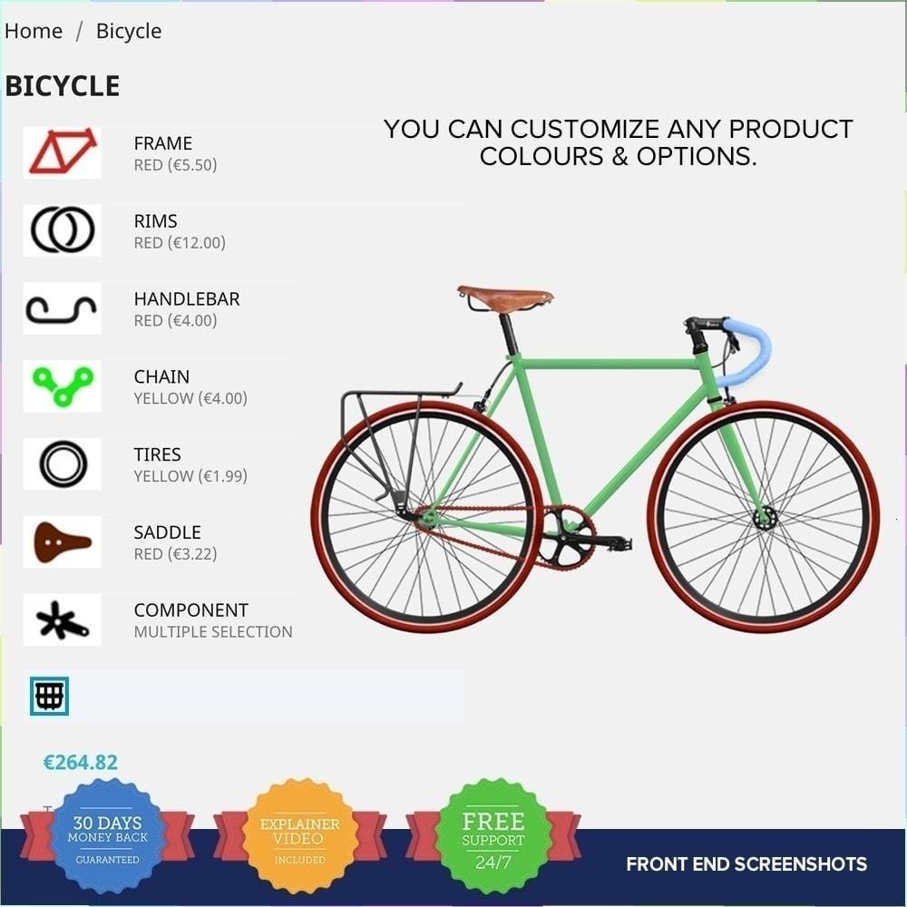 module - Déclinaisons & Personnalisation de produits - Product composer PRO - 7
