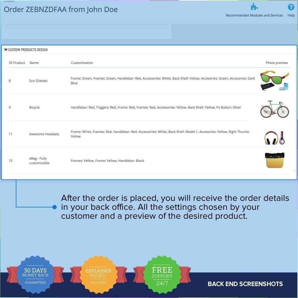 module - Déclinaisons & Personnalisation de produits - Product composer PRO - 12