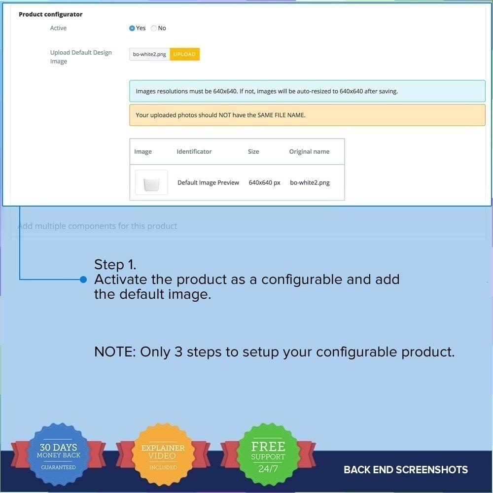 module - Déclinaisons & Personnalisation de produits - Product composer PRO - 13