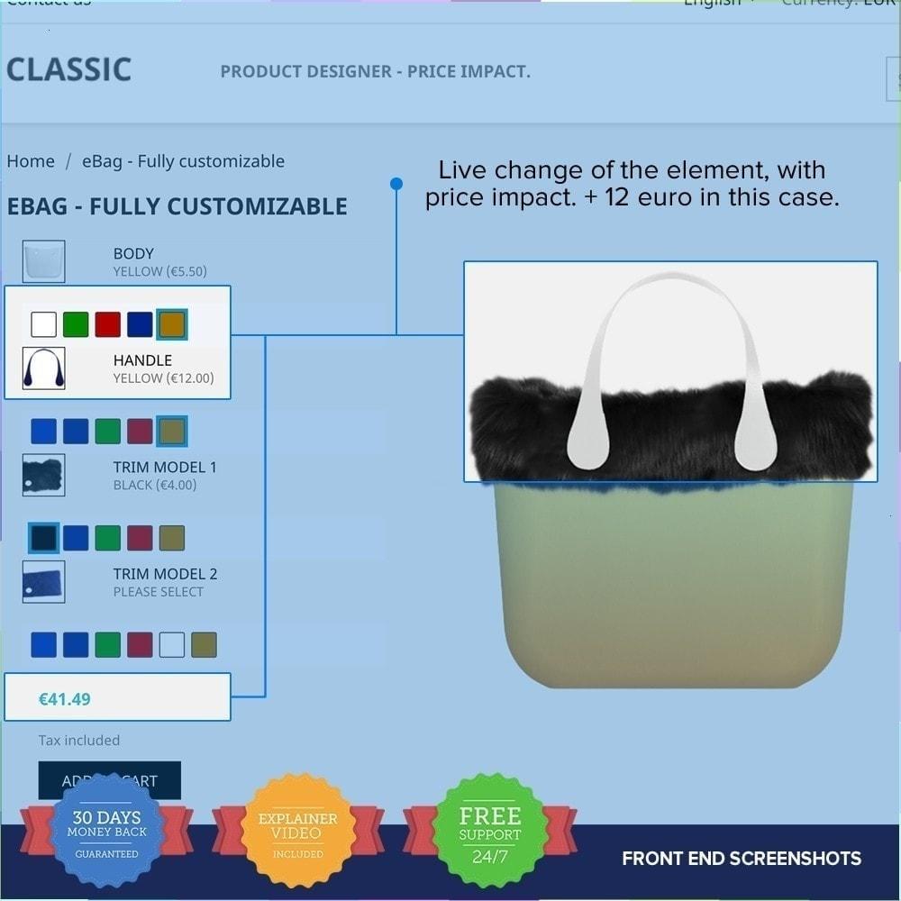 module - Combinaciones y Personalización de productos - Producto Compositor PRO - 4