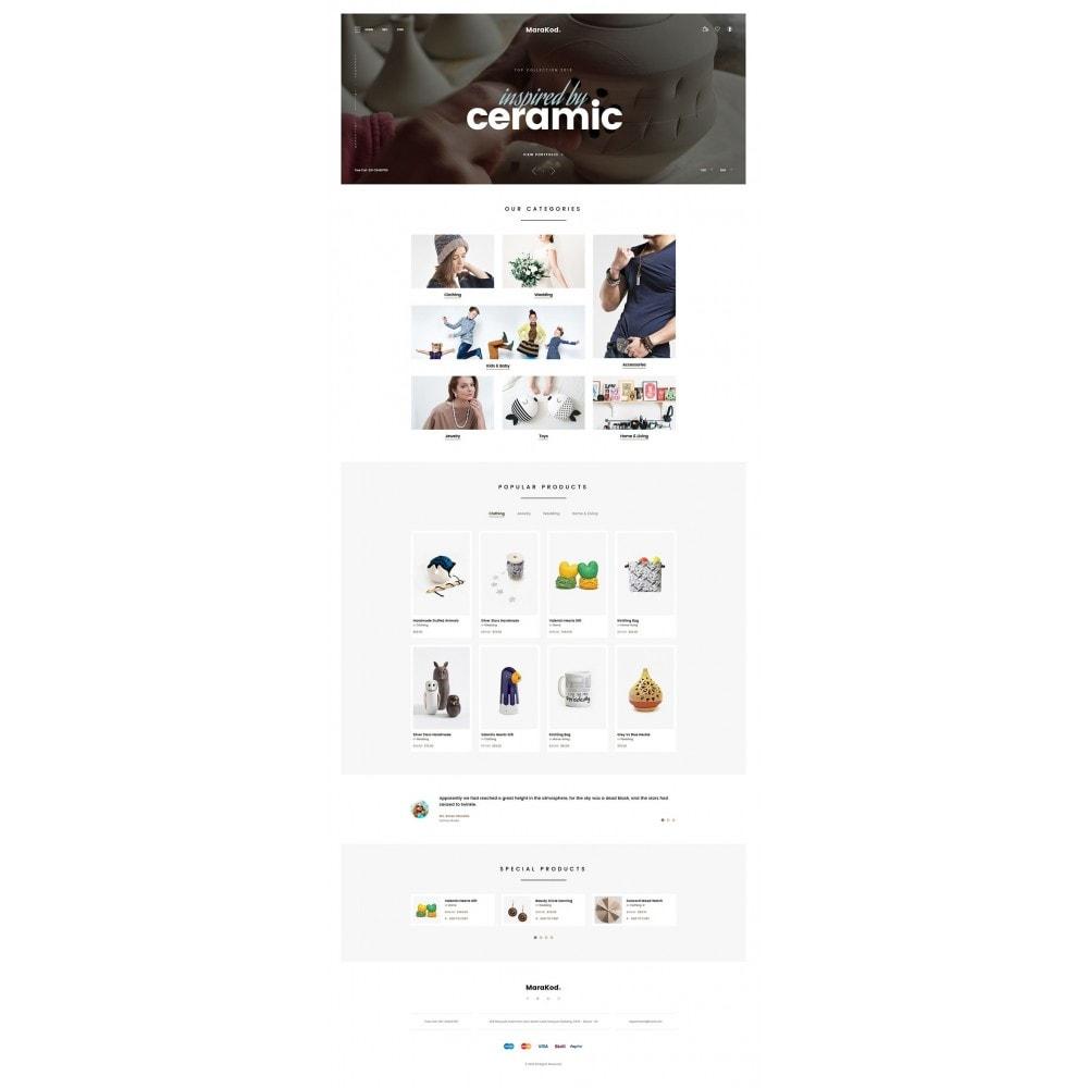 theme - Mode & Chaussures - Marakod - Minimal Handmade Theme - 7