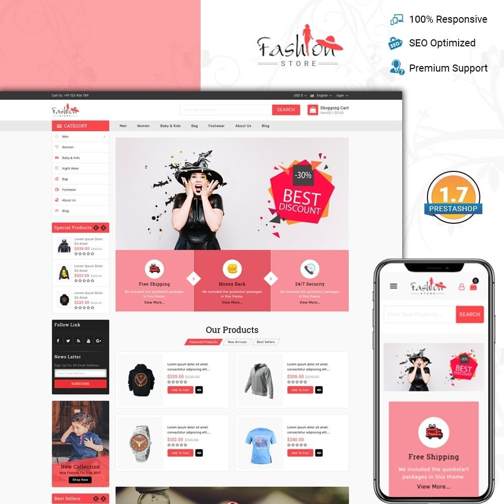 theme - Moda & Obuwie - Fashion Store - 1