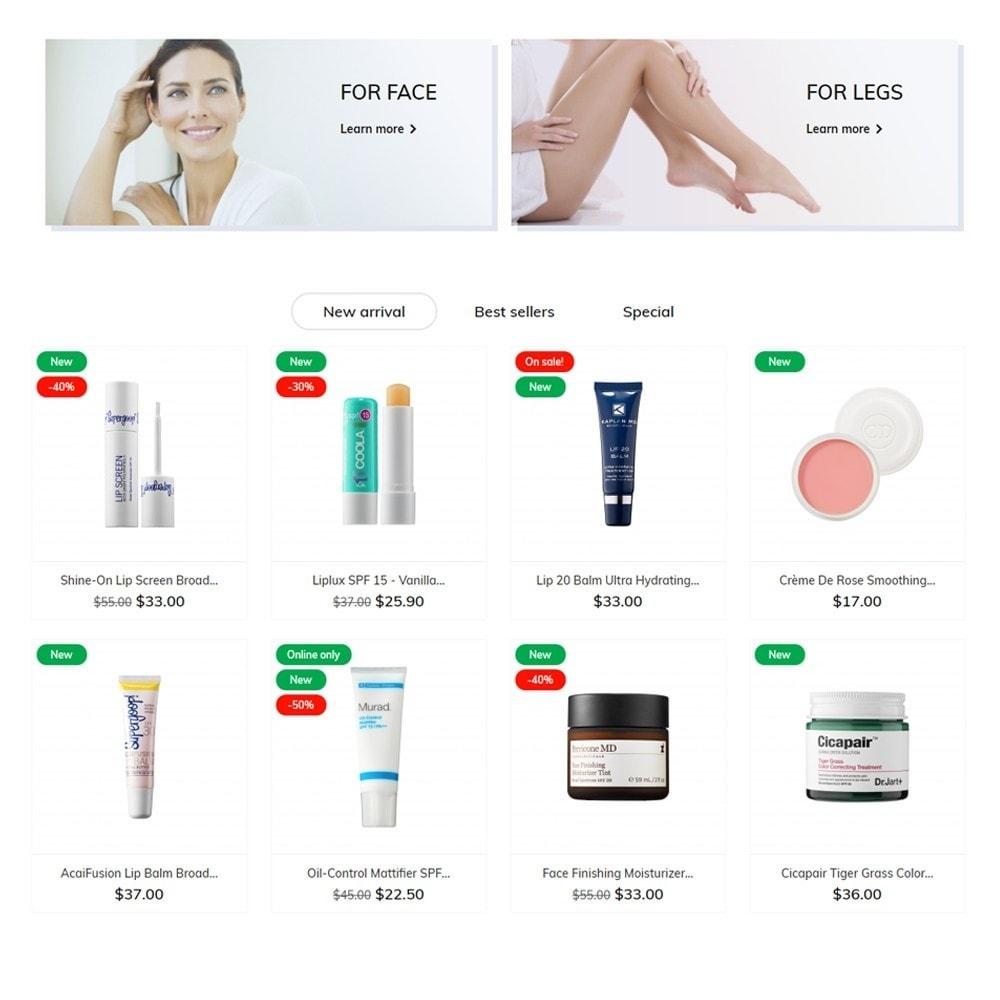 theme - Health & Beauty - Laura Cosmetics - 3