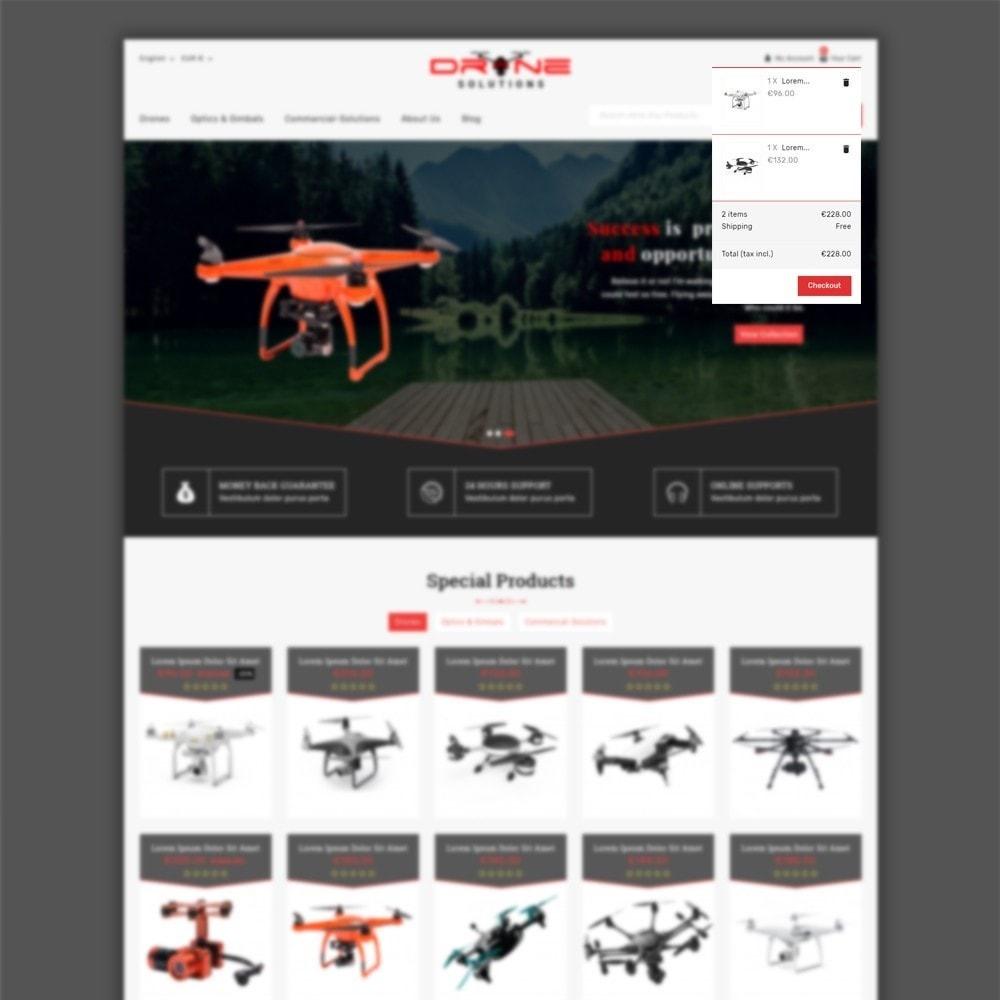 theme - Электроника и компьютеры - Drone Solutions Store - 6