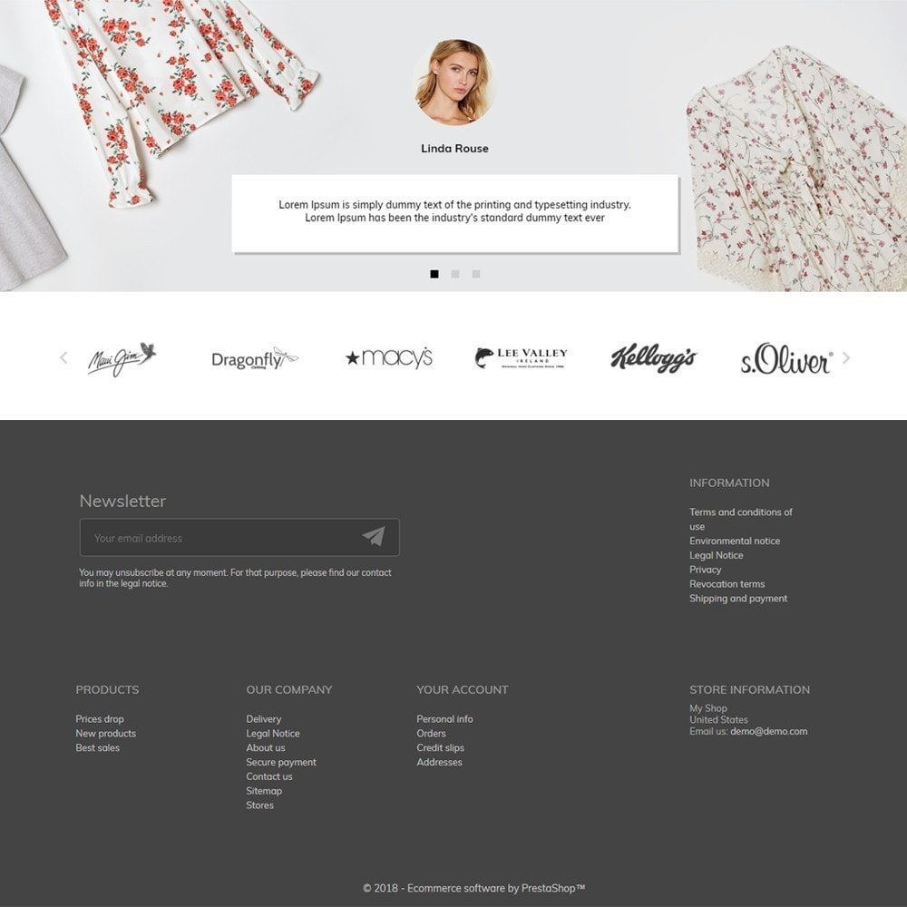 theme - Fashion & Shoes - Eleonora Fashion Store - 4