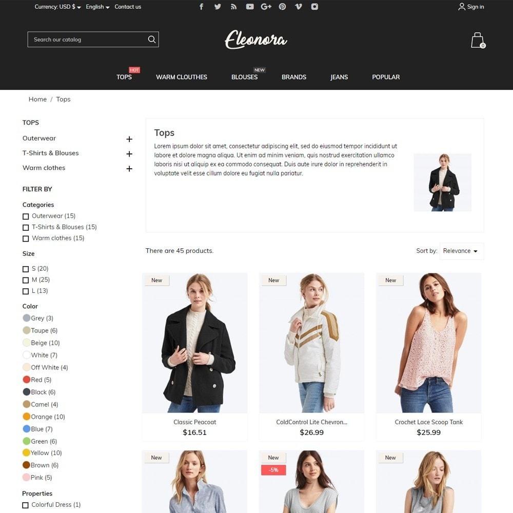 theme - Fashion & Shoes - Eleonora Fashion Store - 6