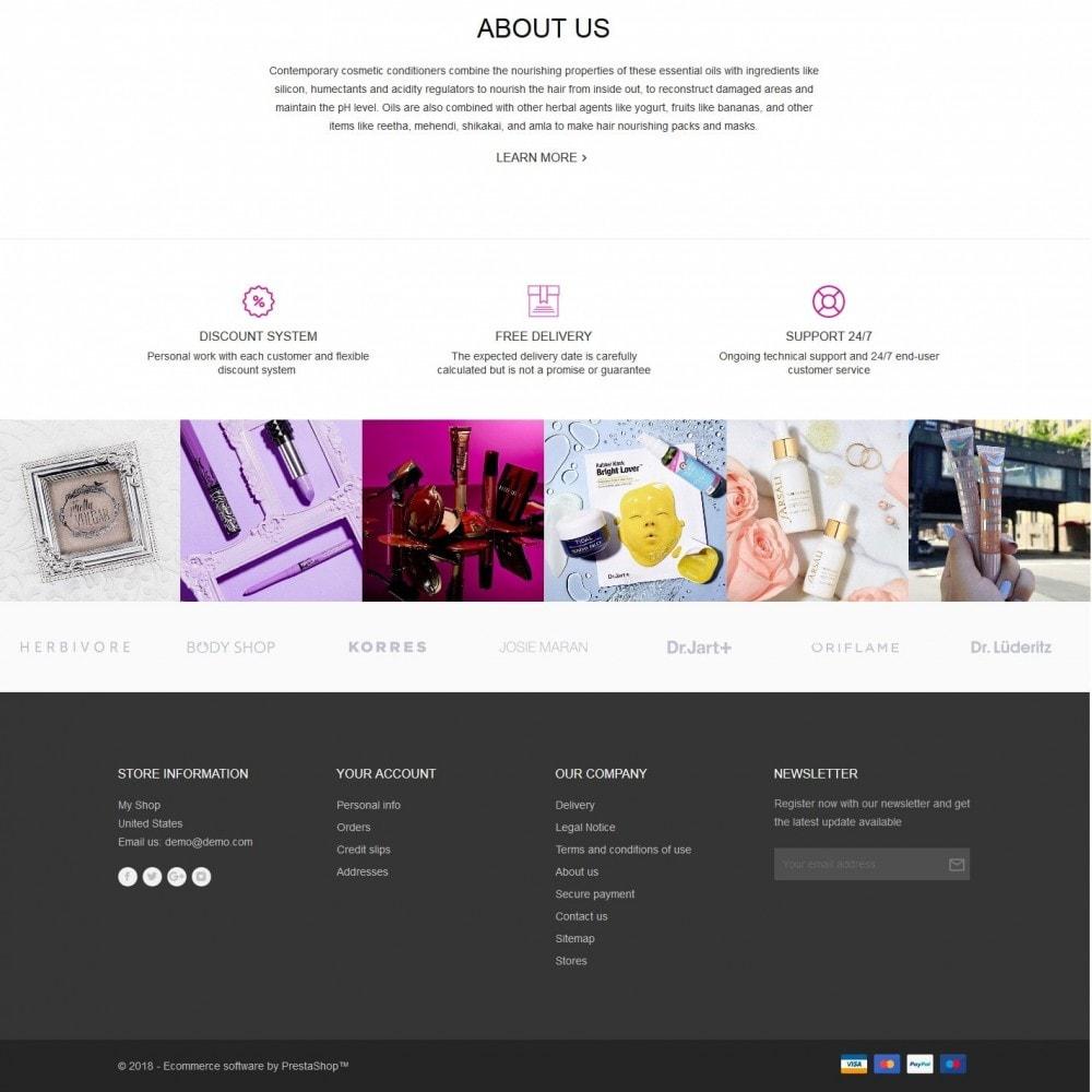 theme - Health & Beauty - Aglaia Cosmetics - 4