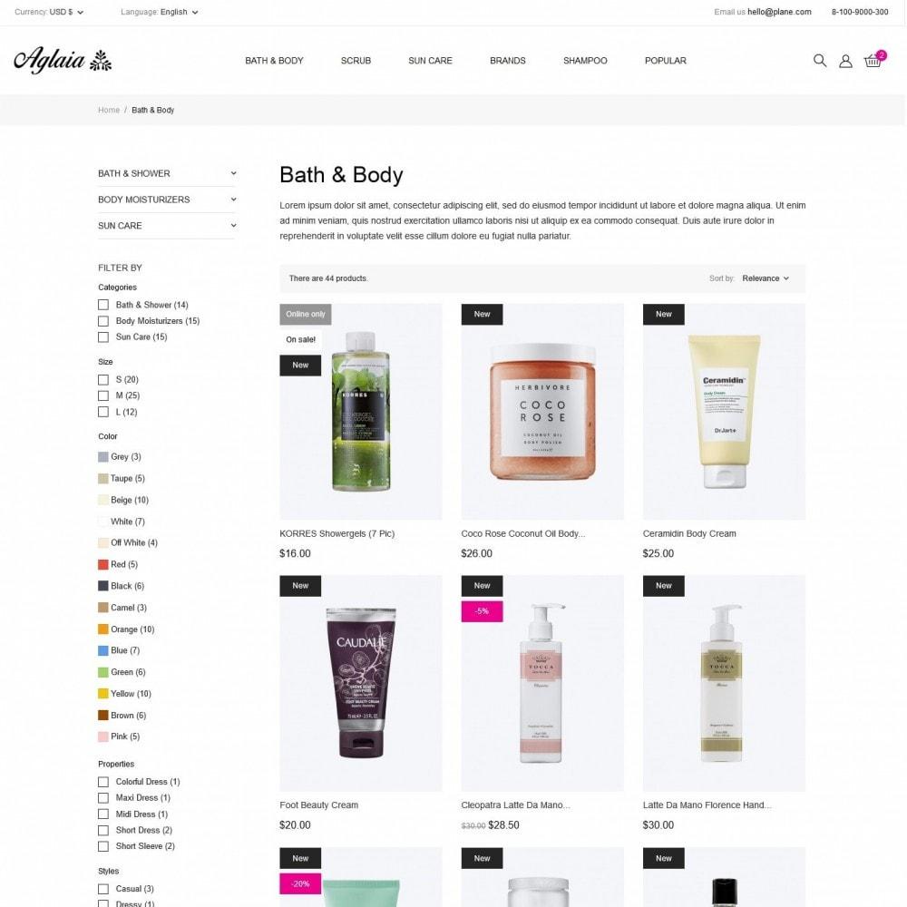 theme - Health & Beauty - Aglaia Cosmetics - 5