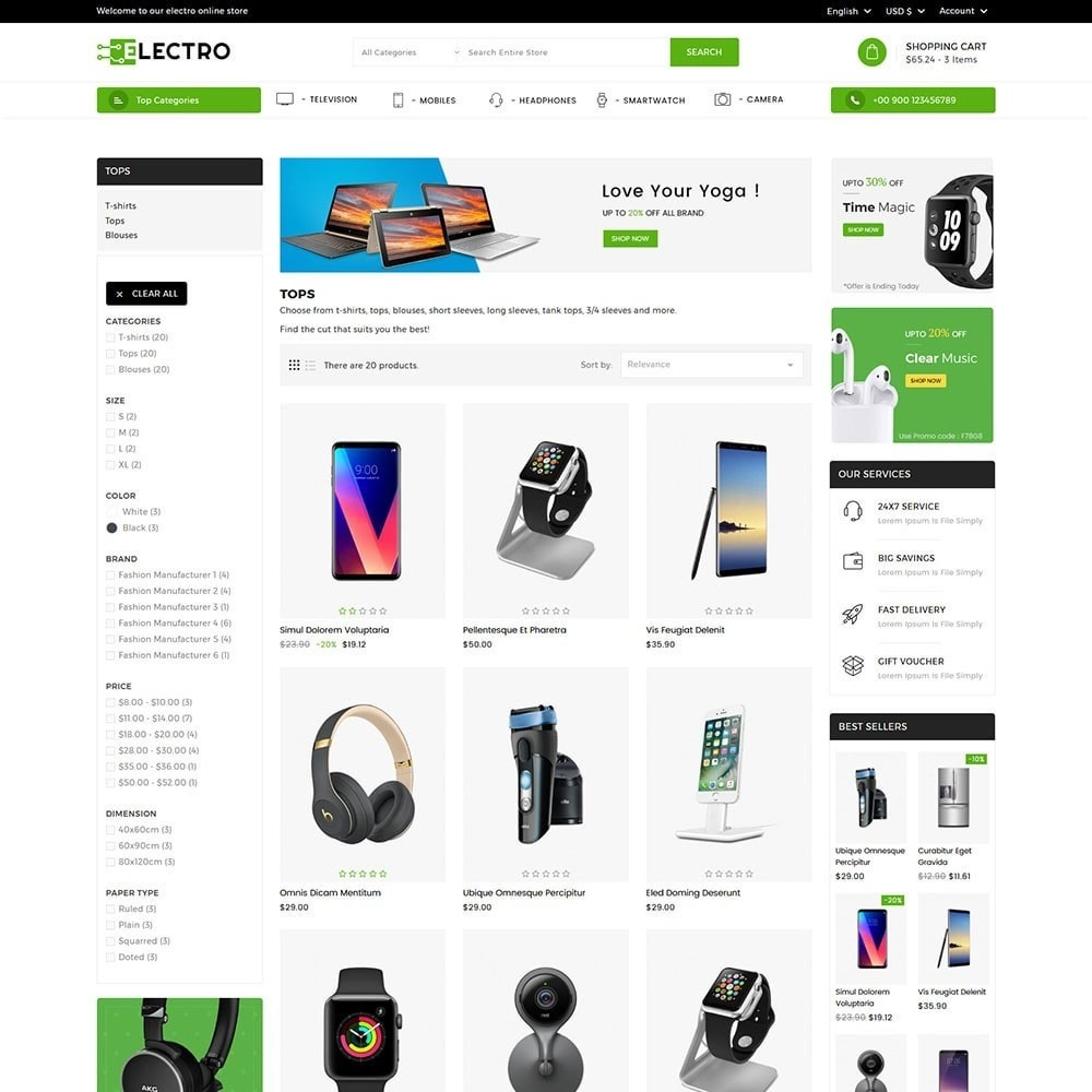 theme - Electronics & Computers - Electro Electronics Store - 3